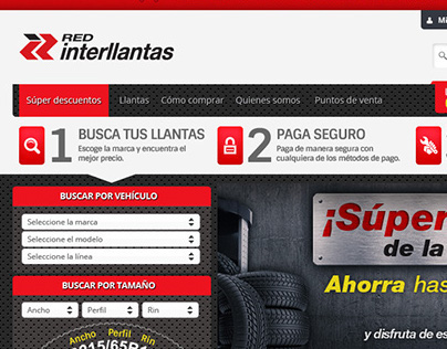 Red Interllantas redesign