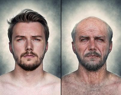 Photo manipulation - Age simulation