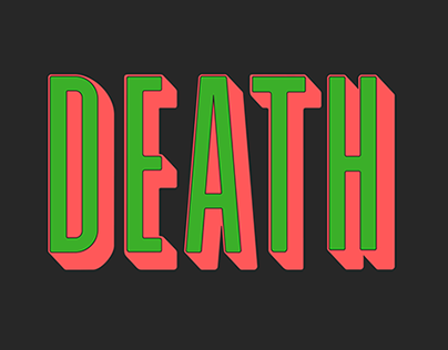THE SWEET RELEASE OF DEATH merchandise design
