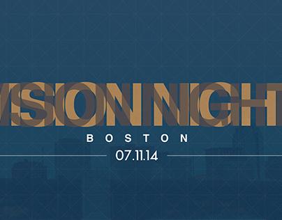 TheCity Boston // Vision Night