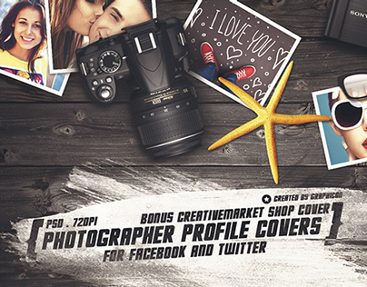 Photographer Social Profile/Header Covers