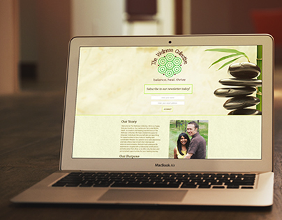 Wellness Collective - Landing Page