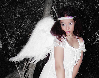 Linette Marzo - Sesión ¨Goodbye wings spring¨