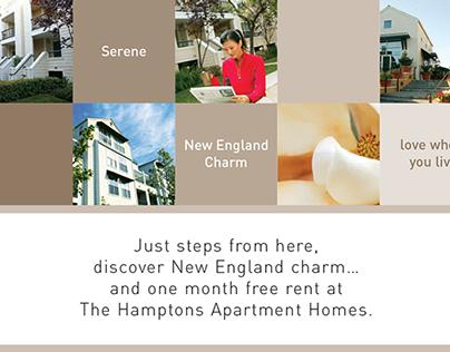 Hamptons Postcard Design - Print