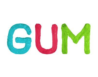 Gum - Experimental Font