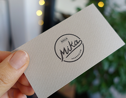 Mika Business Card