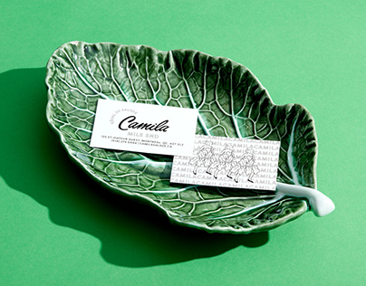 Camila salads - Brand identity