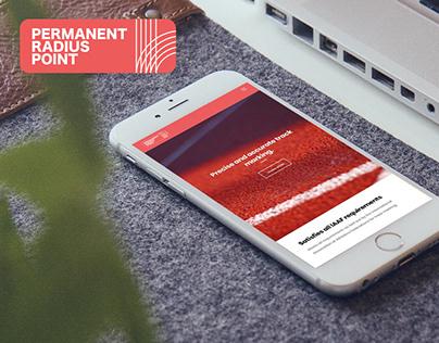 Permanent Radius Point: Brand Creation & Website Design