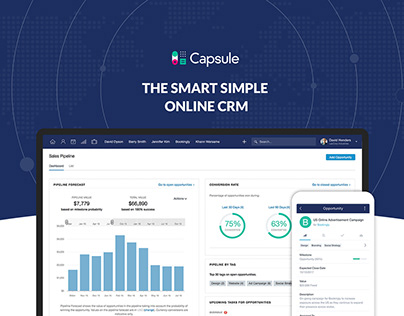 Capsule The Smart Simple Online CRM