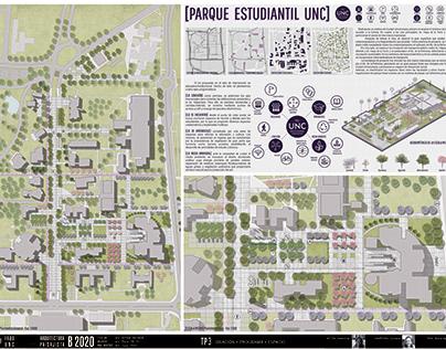 PARQUE ESTUDIANTIL UNC - Arquitectura Paisajista B