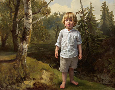 """""""Boy in the forest"""""""