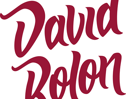 Animación de logo - David Rolon