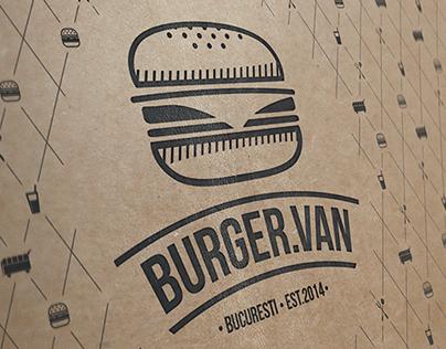Burger Van Bucuresti Branding