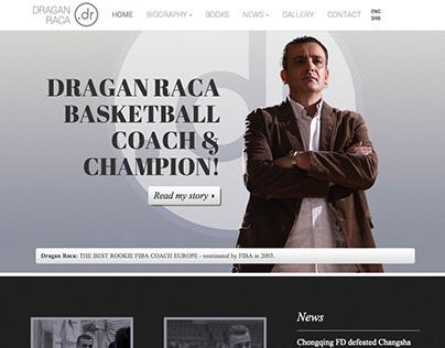 Dragan Raca - visual identity and website design