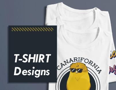 Designs for Canarifornia  | T-shirt