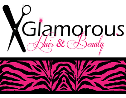 Glamorous Hair & Beauty Corporate Identity Design