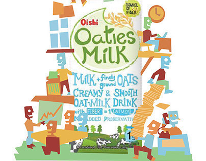 Oaties Ad Campaign