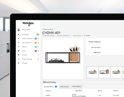 B2B Vendor/Employee Portal