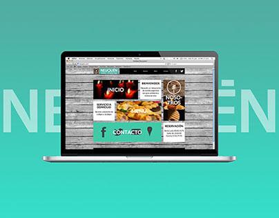 Neuquén / Website redesign