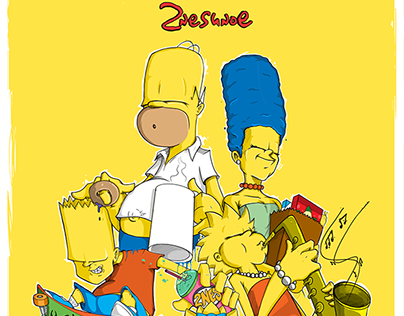 Your Favorite Family ( 2nes x The Simpsons )