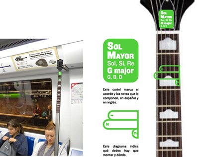 Practise your chords! - Ambient - Metro Barcelona