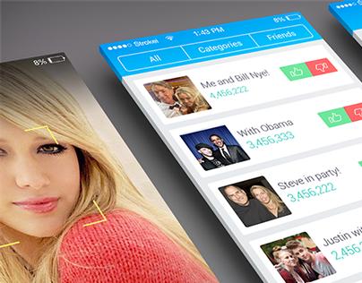 Celebrity App UI
