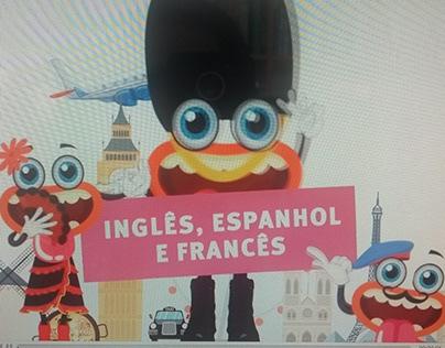 Elemídia e Spot Unilínguas - Conexão com todo o mundo