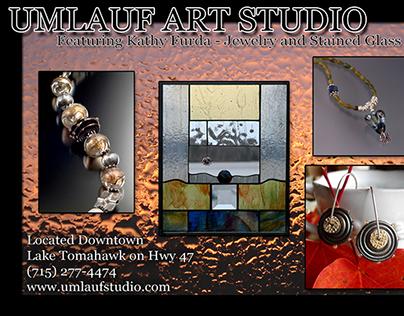 Umlauf Art Studio Postcard Designs