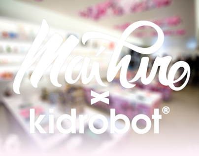 Retrobution : Exhibition @ Kidrobot Miami