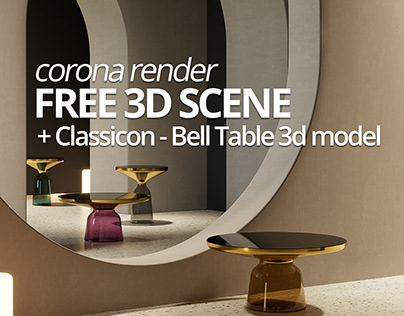 FREE 3D MODEL : Interior Scene 003