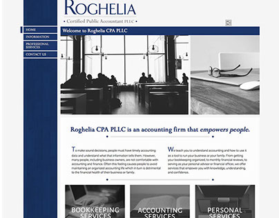 Website Redesign/Rebrand - Accounting Firm