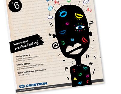 Crestron Corporate Newsletter Design