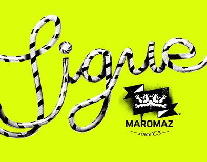 MAROMAZ surf branding