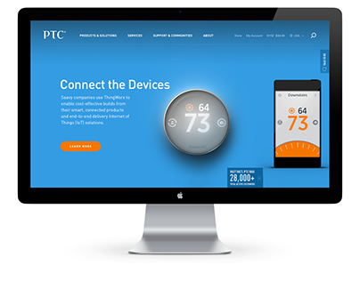 PTC Site Redesign