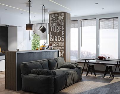 Modern Living Room (september 2013) On Behance Part 85