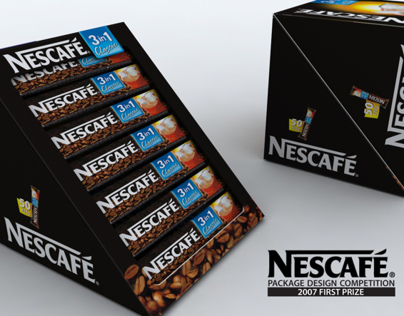 Package design for Nescafé – fifty piece serving box