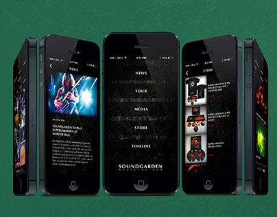 Soundgarden App (school project)