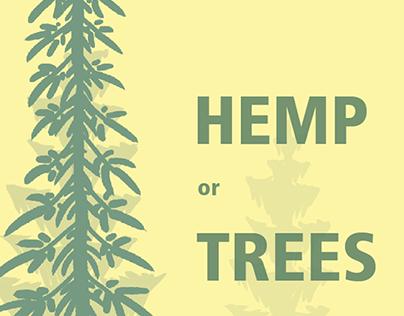 Hemp vs. Trees Infographic