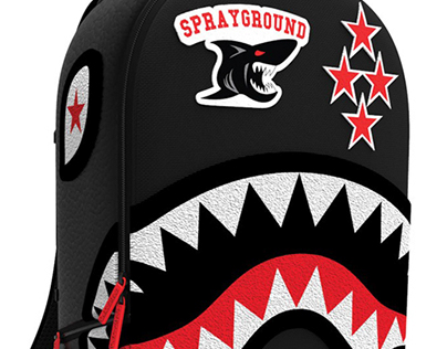 Sprayground BTS 2014 Collection (Varsity Shark)