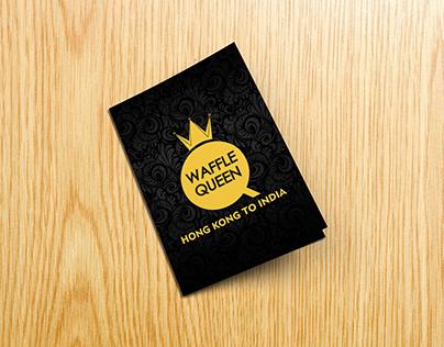 Waffle Queen Menu Design