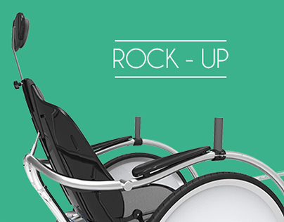 Rock-up // offroad wheelchair