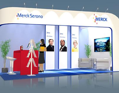 Merck Serono stand