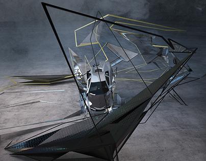 Lamborghini exhibition space