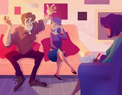 Illustration (accompagnement de couple)