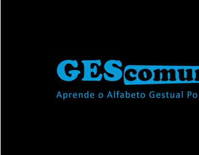 Gescomum - Livro Didáctico - alfabeto gestual português