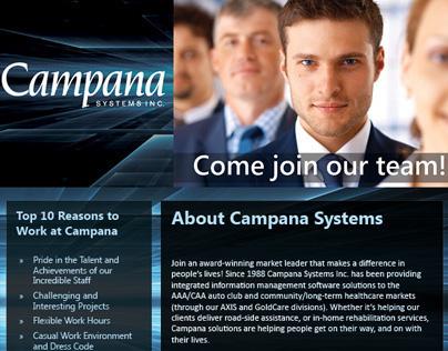 Campana Job Fair Materials
