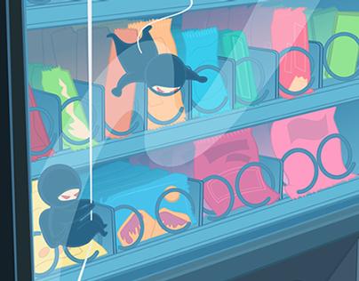 Hackers Lurking in Vending Machines