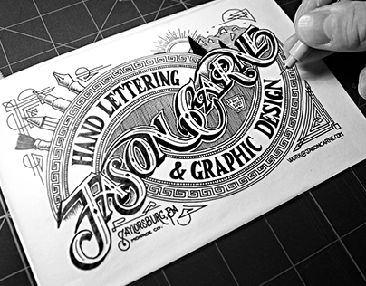 Hand Lettering Projects 2011-2014