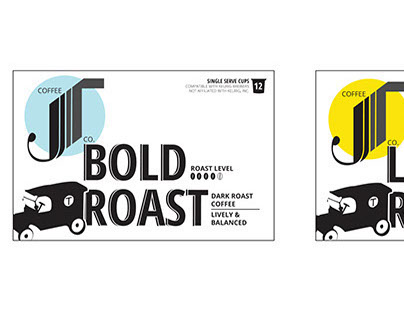 JT Coffee and Tea Packaging Concepts