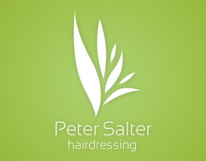 Peter Salter Hairdressing branding